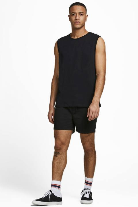 Jack & Jones JJIJEFF JJJOGGER SHORTS AKM Black