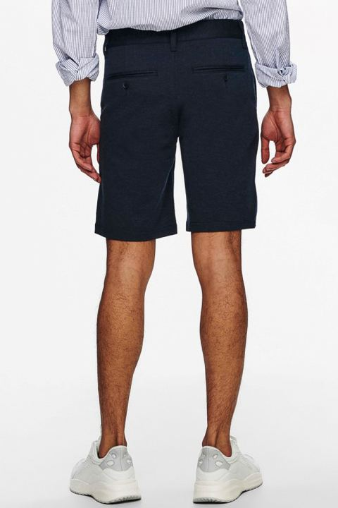 ONLY & SONS ONSMARK SHORTS MELANGE GW 8669 NOOS Dress Blues