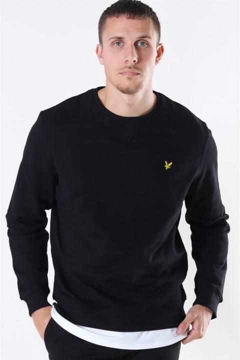 Lyle & Scott Crew Neck Sweatshirt Jet Black