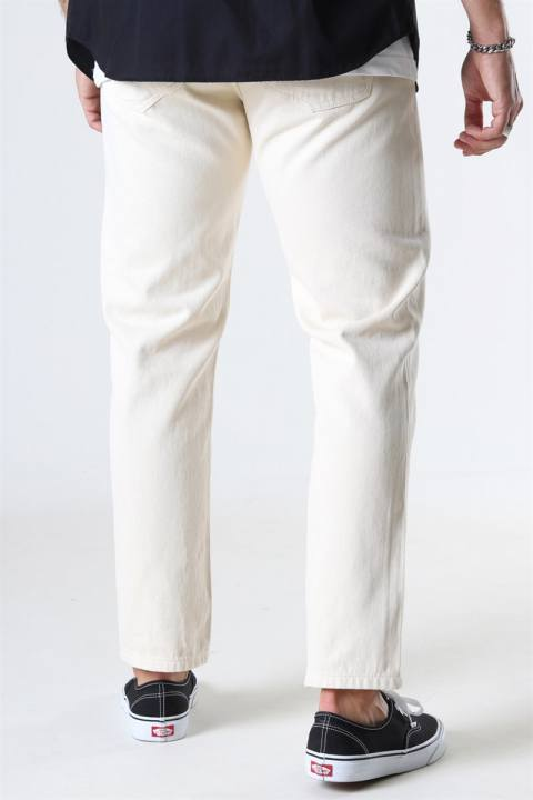 Woodbird Doc Twill Pants Off White
