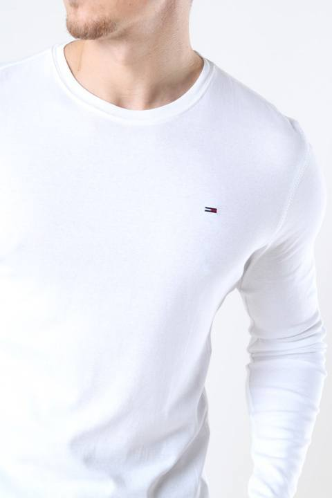 Tommy Jeans Original Rib Longsleeve White