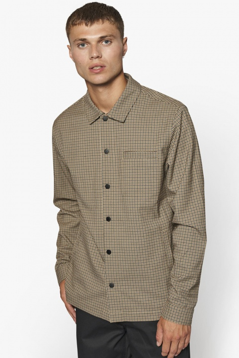 Woodbird Brenti Bleek Shirt Brown