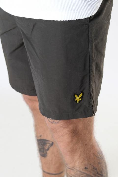 Lyle & Scott Plain Swim Short Trek Green