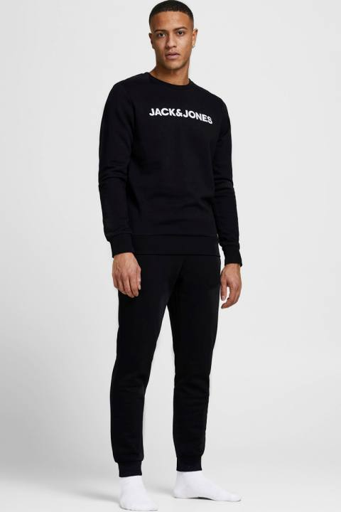 Jack & Jones JACLOUNGE SET NOOS Black Black