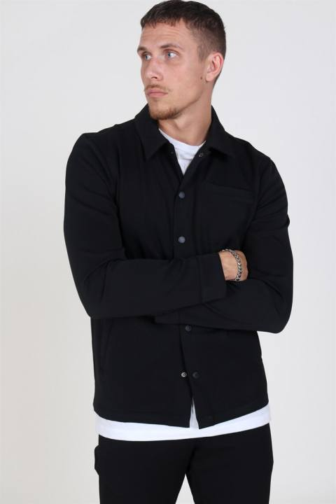 Woodbird Brenti Overshirt Black