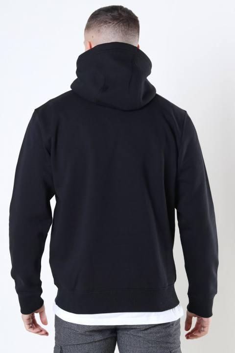 Tommy Jeans Fleece Hoodie Black