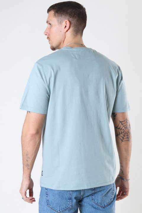 ONLY & SONS ONSMILLENIUM LIFE REG SS TEE Silver Blue