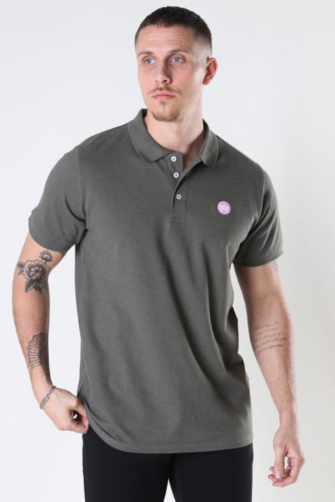 Kronstadt Albert Recycled cotton polo Sacramento