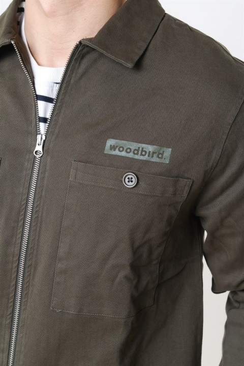 Woodbird Kent Buzz Shirt Army