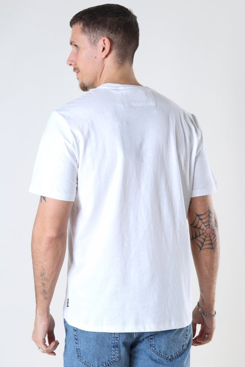 ONLY & SONS ONSMILLENIUM LIFE REG SS TEE White
