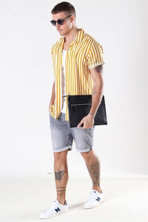 Only & Sons Ply PK 5229 Shorts Grey Denim