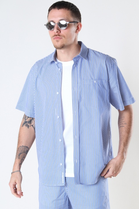 Woodbird Silks Milk Shirt White