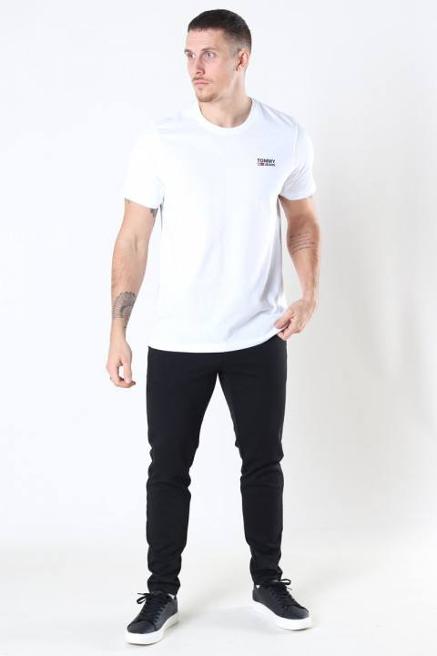 Tommy Jeans Regular Corp Logo T-shirt White