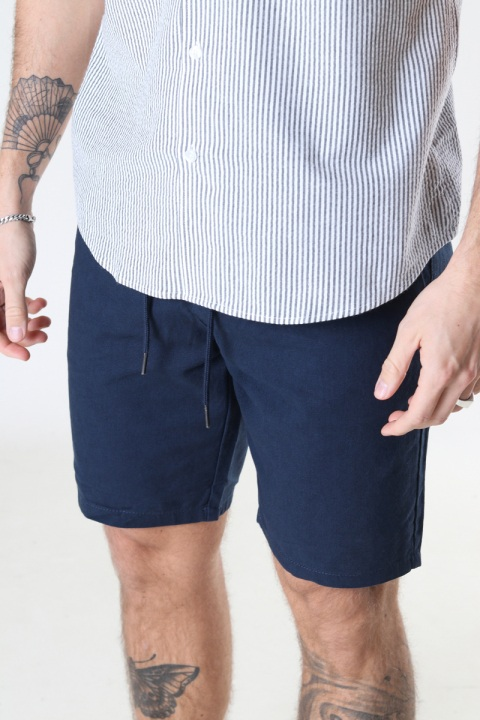 ONLY & SONS ONSLEO SHORTS LINEN MIX GW 9201 NOOS Dress Blues