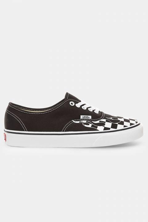 Vans Authentic Sneakers Cheker Flame Black/Tru