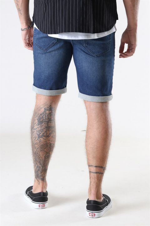 Only & Sons Ply Blue PK 5230 Shorts Blue Denims