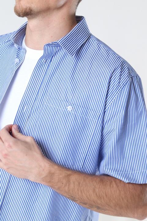 Woodbird Silks Milk Shirt White