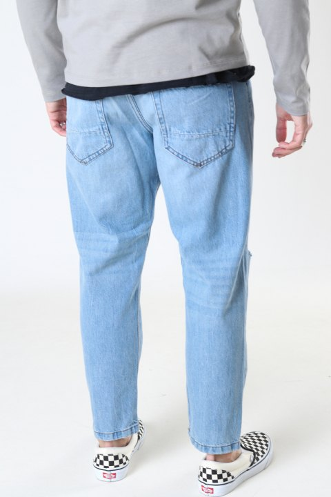 ONLY & SONS ONSAVI BEAM LIFE CROP LBLUE PK 9569 NOOS Blue Denim