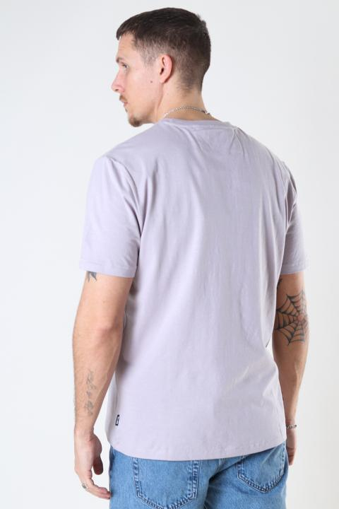 ONLY & SONS ONSMILLENIUM LIFE REG SS TEE Raindrops