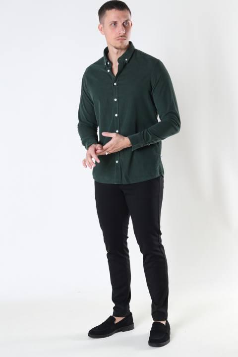 Kronstadt Johan Baby Corduroy shirt Green