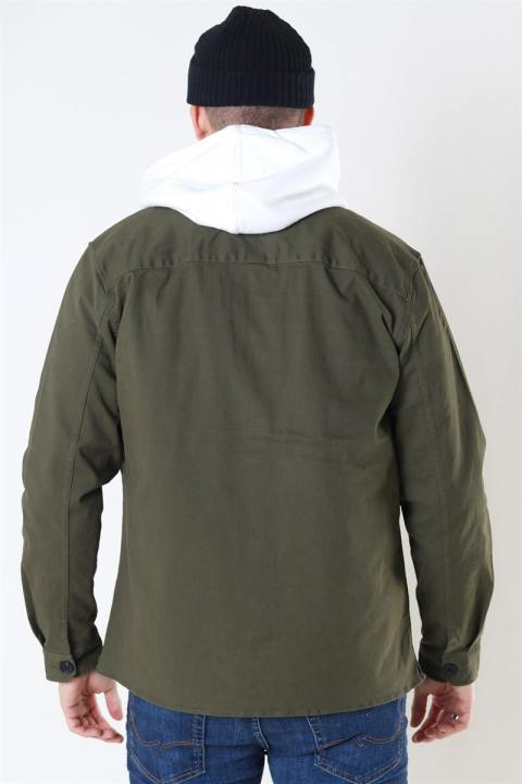 Gabba Topper LS Overshirt Army