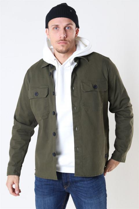 Gabba Topper LS Overshirt Army