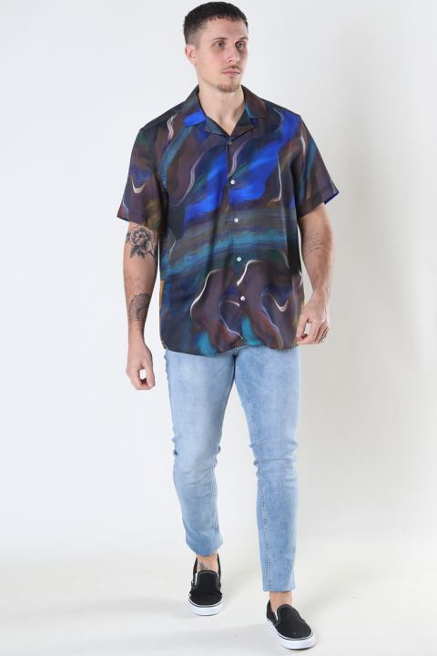 Woodbird Maha Cuba shirt Brown