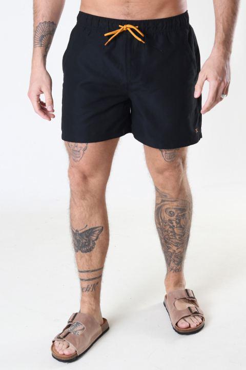Clean Cut Copenhagen Swim Shorts Black