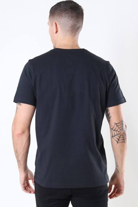 Tommy Jeans Regular Corp Logo T-shirt Black