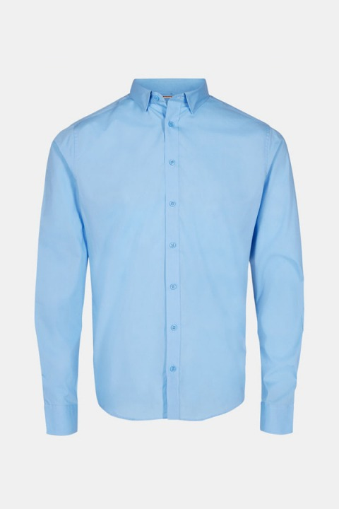 Jack & Jones JJJOE SHIRT LS 2 PACK Cashmere Blue