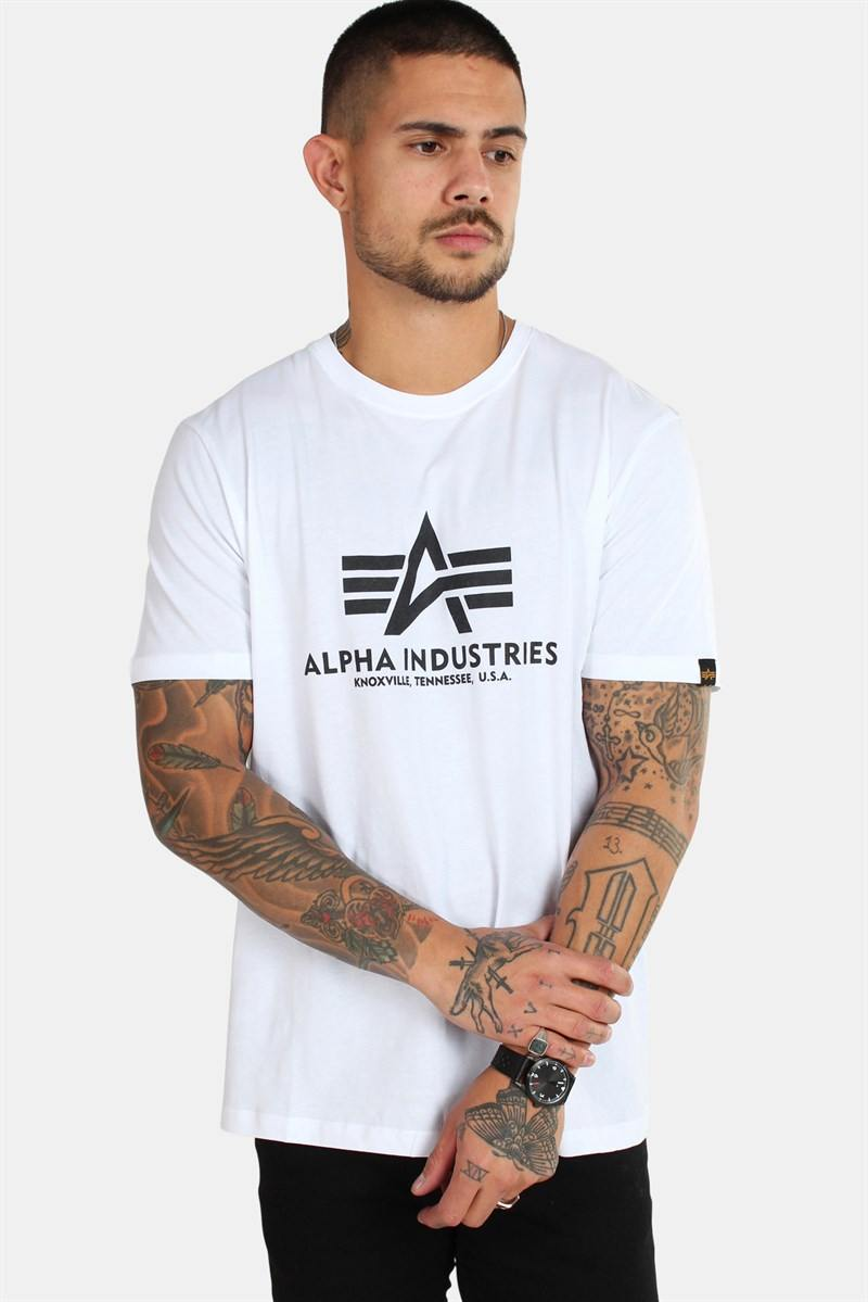 Alpha Industries Basic T-Shirt White