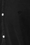Jack & Jones JPRBLALOGO STRETCH DENIM SHIRT L/S STS Black Denim SLIM FIT
