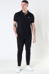 Kronstadt Albert Recycled cotton polo Black