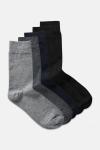 Jack & Jones JACJENS SOCK 5 PACK NOOS Dark Grey Melange Light grey melange & Black navy & Black & Bl