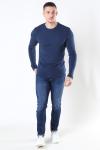 Tommy Jeans Original Rib Longsleeve Black Iris