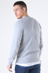 Jack & Jones Basic Sweat Crew Neck Light Grey Mel