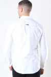 Tommy Jeans Slim Stretch Oxford Shirt White