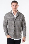 Gabba Clipper LS Overshirt Big Brown Check
