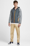 Jack & Jones JJEMULTI QUILTED JACKET NOOS Grey Melange