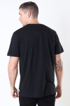 Woodbird Trope Split Tee Black