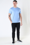 Mos Mosh Gallery Perry Crunch O-SS Tee Bel Air Blue