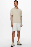 ONLY & SONS ONSACE LIFE 12 SLUB SS POLO KNIT NOOS Pelican