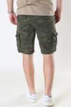 Gabba Rufo Cargo Shorts Camouflage Green