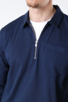 Jack & Jones JPRBLAPETROL SWEAT HALF ZIP New Navy REG FIT