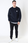 Woodbird Our Braxy Patch Crew Sweat Black