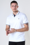 Jack & Jones JJEJERSEY POLO SS NOOS White REG