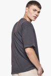 Woodbird Boxy State Tee Dark Grey