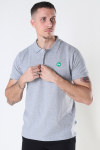 Kronstadt Albert Recycled cotton polo Twilight
