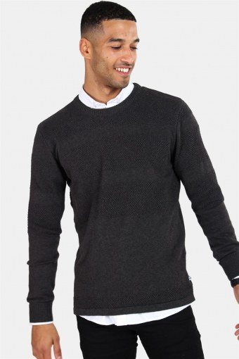 Hannes Knit Charcoal