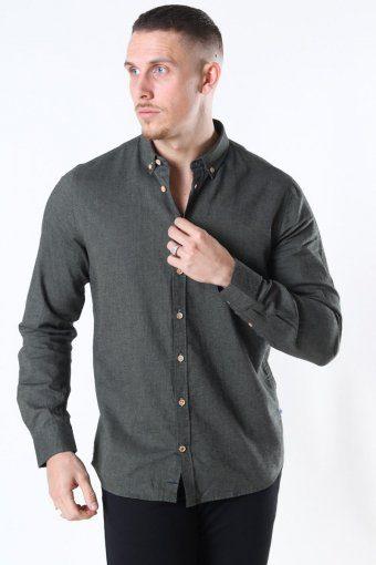 Johan Diego Cotton Shirt Army mel